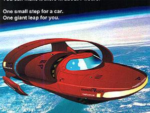 futuristic modern flying car games